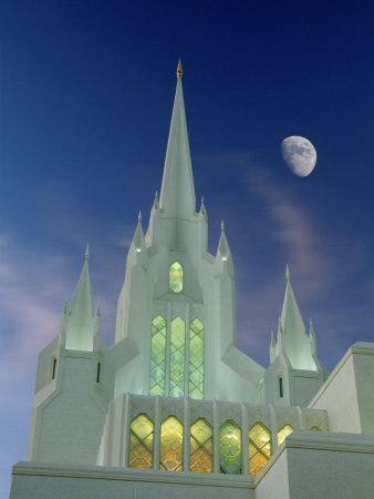 Mormon Temple, San Diego, California, USA-Richard Cummins-Premium Photographic Print