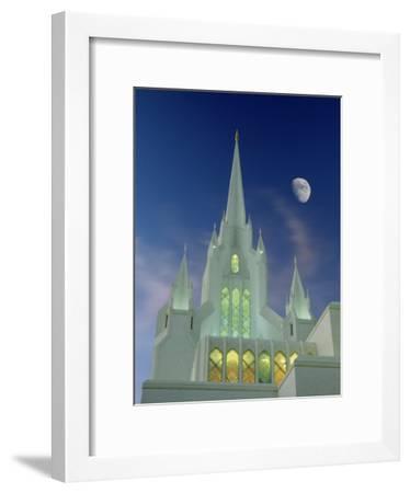 Mormon Temple, San Diego, California, USA-Richard Cummins-Framed Premium Photographic Print