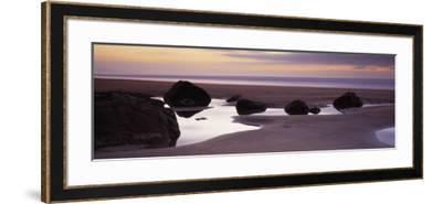 Rocks on the Beach, Sandymouth Bay, Bude, Cornwall, England--Framed Photographic Print