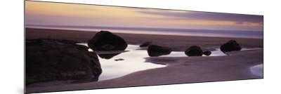 Rocks on the Beach, Sandymouth Bay, Bude, Cornwall, England--Mounted Photographic Print