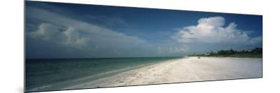 Clouds over the Beach, Lighthouse Beach, Sanibel Island, Fort Myers, Florida, USA--Mounted Photographic Print