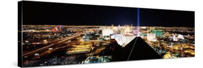 View of a City from Mandalay Bay Resort and Casino, Las Vegas, Clark County, Nevada, USA--Stretched Canvas Print