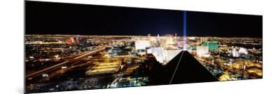 View of a City from Mandalay Bay Resort and Casino, Las Vegas, Clark County, Nevada, USA--Mounted Photographic Print