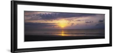 Sunrise over the Ocean, Jekyll Island, Georgia, USA--Framed Photographic Print