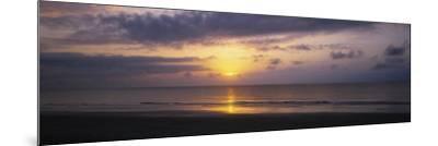 Sunrise over the Ocean, Jekyll Island, Georgia, USA--Mounted Photographic Print