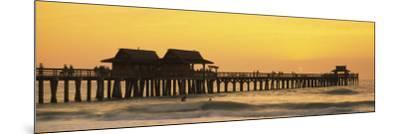 Stilt Houses on the Pier, Gulf of Mexico, Naples, Florida, USA--Mounted Photographic Print