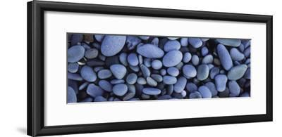 View of Pebbles, Sandymouth Beach, Cornwall, England--Framed Photographic Print
