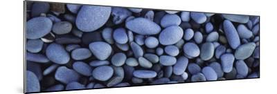 View of Pebbles, Sandymouth Beach, Cornwall, England--Mounted Photographic Print