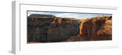 River Passing Through Mountains, Toroweap Point, Grand Canyon National Park, Arizona, USA--Framed Photographic Print
