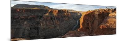 River Passing Through Mountains, Toroweap Point, Grand Canyon National Park, Arizona, USA--Mounted Photographic Print