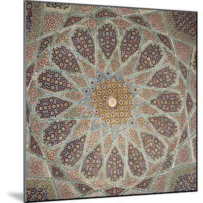 Detail of Interior of the Tomb of the Persian Poet Hafiz, Shiraz, Iran, Middle East-Robert Harding-Mounted Photographic Print