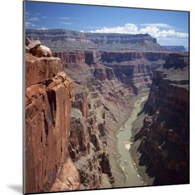Deep Gorge of the Colorado River on the West Rim of the Grand Canyon, Arizona, USA-Tony Gervis-Mounted Photographic Print