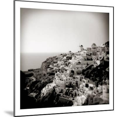 Polaroid of View of the Village of Oia, Santorini, Cyclades, Greek Islands, Greece, Europe-Lee Frost-Mounted Photographic Print