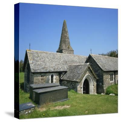 Church of St. Enodor, Rock, Cornwall, England, United Kingdom, Europe-Michael Jenner-Stretched Canvas Print
