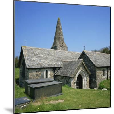 Church of St. Enodor, Rock, Cornwall, England, United Kingdom, Europe-Michael Jenner-Mounted Photographic Print