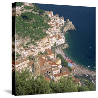 Amalfi, Costiera Amalfitana, Campania, Italy-Roy Rainford-Stretched Canvas Print
