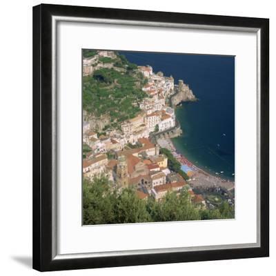 Amalfi, Costiera Amalfitana, Campania, Italy-Roy Rainford-Framed Photographic Print