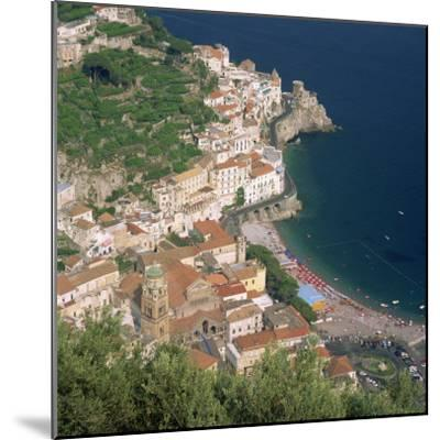 Amalfi, Costiera Amalfitana, Campania, Italy-Roy Rainford-Mounted Photographic Print