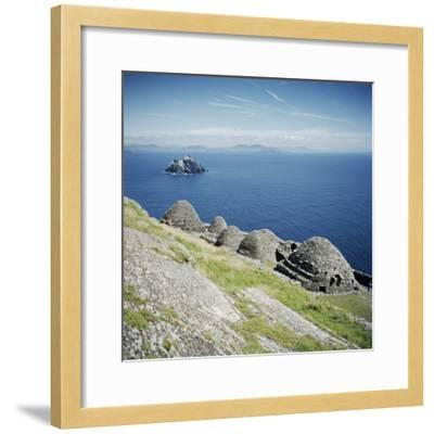 Ancient Monastic Settlement in Skellig Michael, County Kerry, Munster, Republic of Ireland-Andrew Mcconnell-Framed Photographic Print