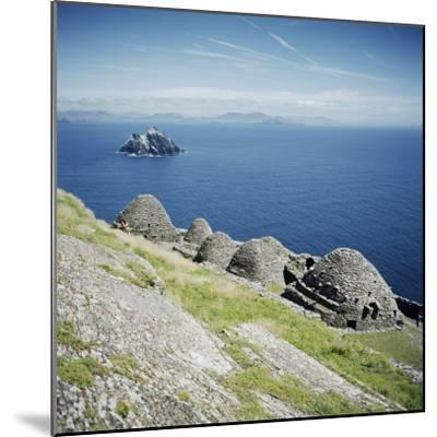 Ancient Monastic Settlement in Skellig Michael, County Kerry, Munster, Republic of Ireland-Andrew Mcconnell-Mounted Photographic Print