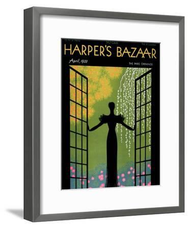 Harper's Bazaar, April 1933--Framed Premium Giclee Print
