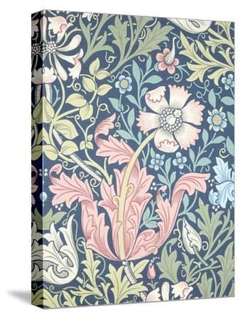 Compton Wallpaper, Paper, England, Late 19th Century-William Morris-Stretched Canvas Print