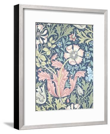 Compton Wallpaper, Paper, England, Late 19th Century-William Morris-Framed Giclee Print