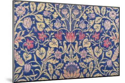 Violet and Columbine Furnishing Fabric, Woven Wool and Mohair, England, 1883-William Morris-Mounted Premium Giclee Print