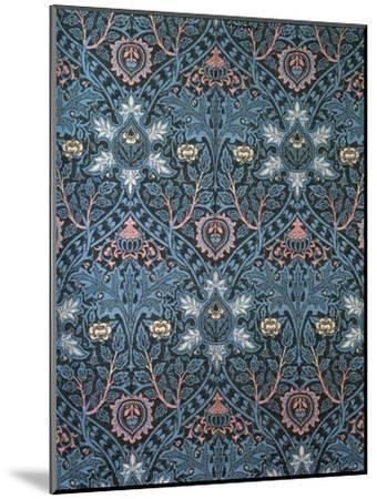 Isaphan Furnishing Fabric, Woven Wool, England, Late 19th Century-William Morris-Mounted Premium Giclee Print