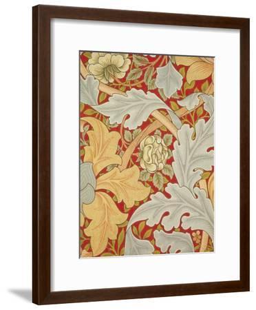 St James Wallpaper, Paper, England, 1881-William Morris-Framed Giclee Print