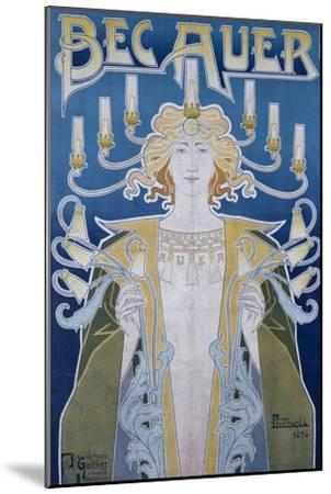 Bec Auer, Belgium, 1896-Privat Livemont-Mounted Giclee Print