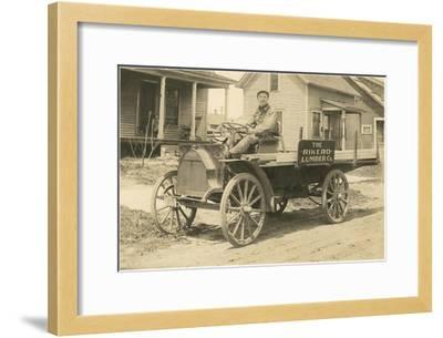 Lumber Sales Representative--Framed Art Print
