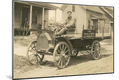Lumber Sales Representative--Mounted Art Print