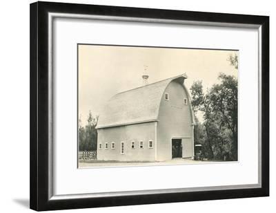 Big Barn--Framed Art Print