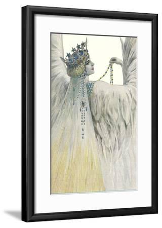 Swan Queen--Framed Art Print