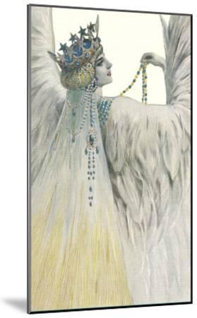 Swan Queen--Mounted Art Print