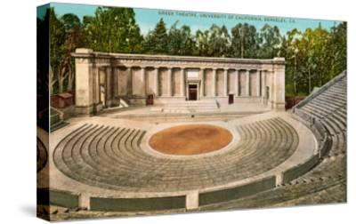 Greek Theatre, University, Berkeley, California--Stretched Canvas Print