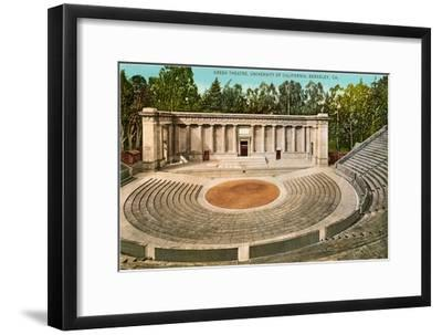 Greek Theatre, University, Berkeley, California--Framed Art Print