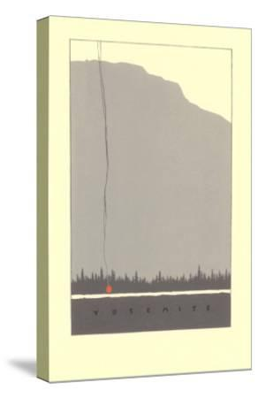 Yosemite--Stretched Canvas Print