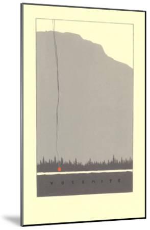 Yosemite--Mounted Art Print