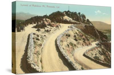 Summit of Rubidoux Mountain, Riverside, California--Stretched Canvas Print