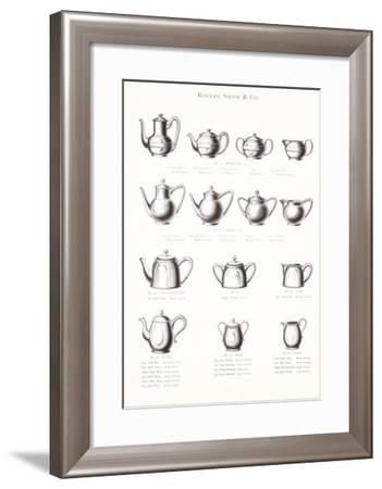 Tea Pot Selection--Framed Art Print