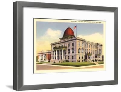 City Hall, Little Rock, Arkansas--Framed Art Print