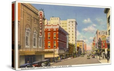 Main Street, Little Rock--Stretched Canvas Print