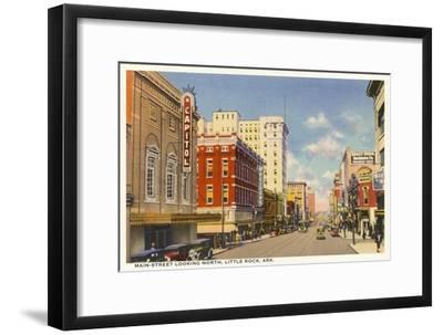 Main Street, Little Rock--Framed Art Print