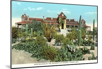 University of Arizona at Tucson, Cactus Garden--Mounted Art Print