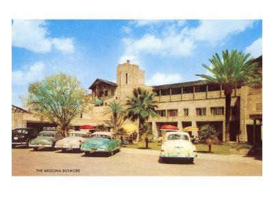 Arizona Biltmore Hotel--Framed Art Print