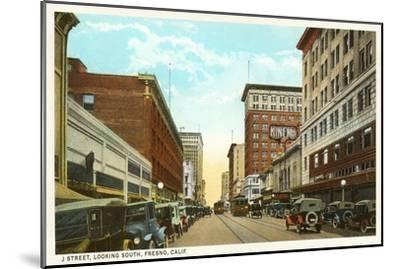 Downtown Fresno, California--Mounted Art Print