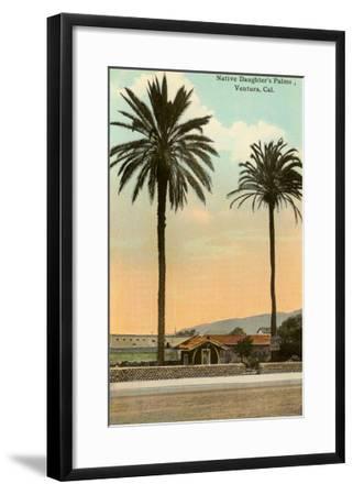 Palm Trees, Ventura--Framed Art Print