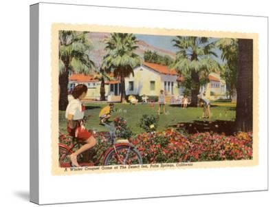 Desert Inn, Palm Springs, California--Stretched Canvas Print